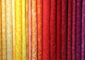 Gradations of fabric