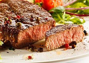 Fine cut steak