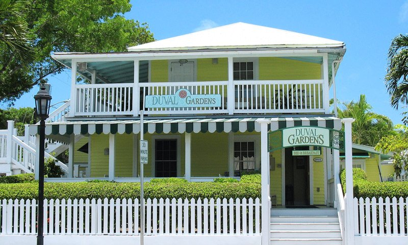 Duval Gardens Bed And Breakfast Key West Lodging