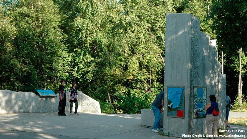 Earthquake Park Monument