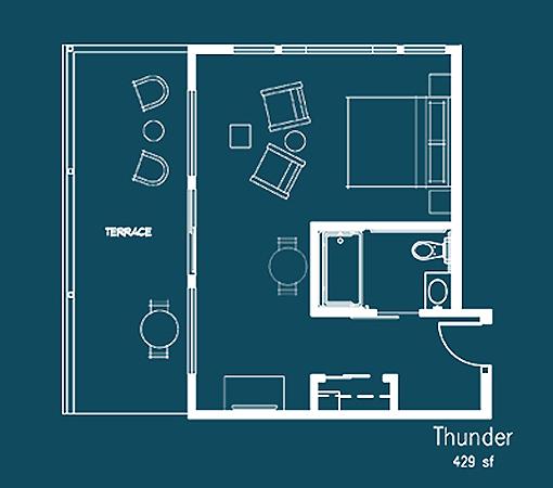 Thunder Floor Plan
