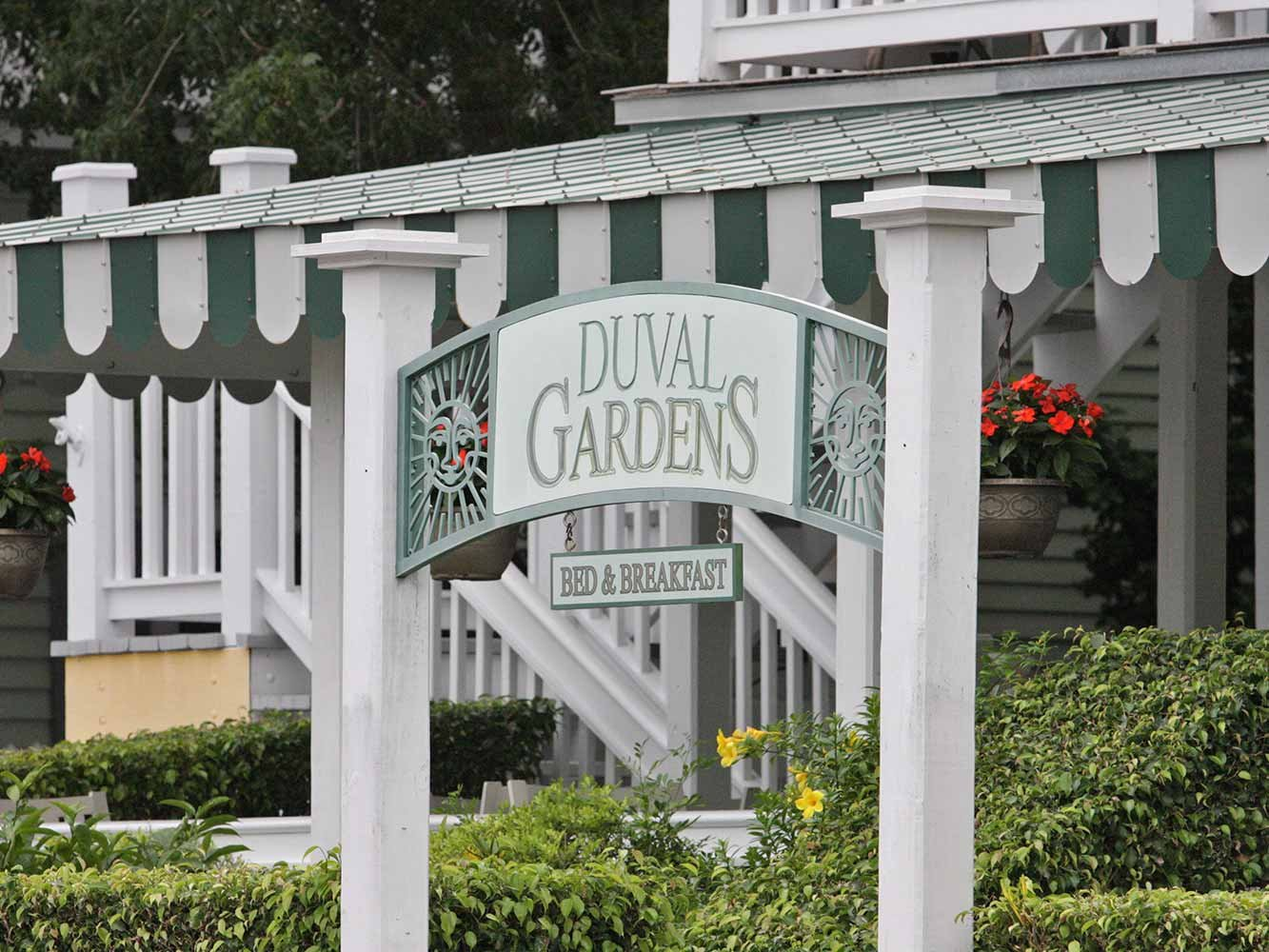 Duval Gardens Bed & Breakfast