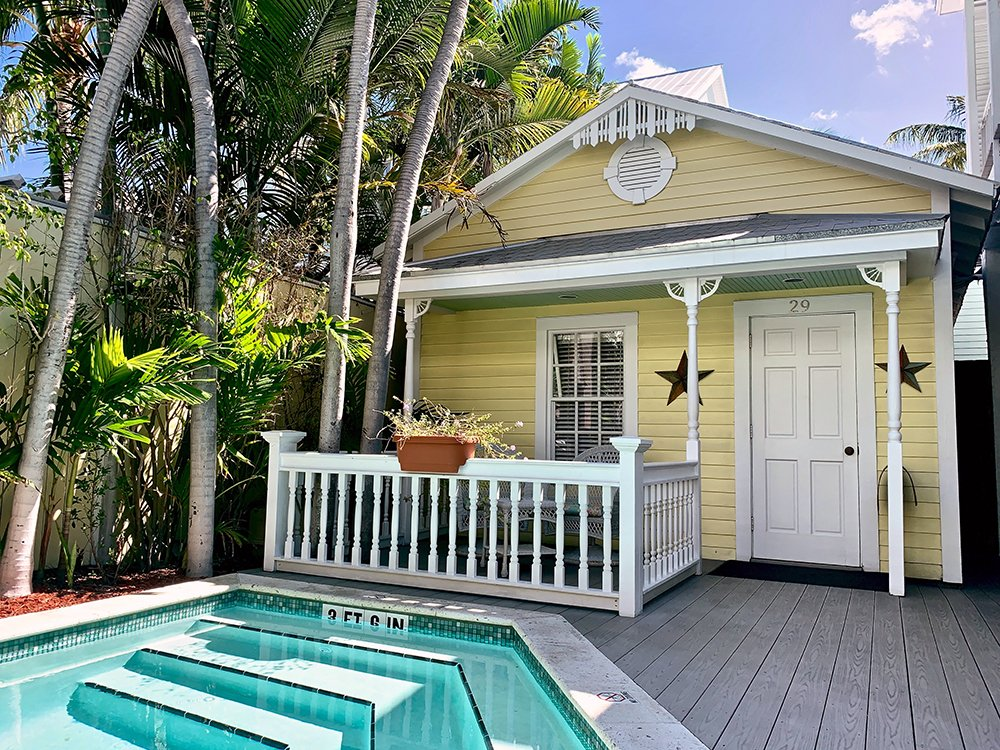 guest house near pool