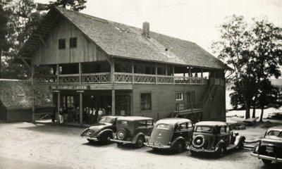 Historic Photo of Steamboat Landing