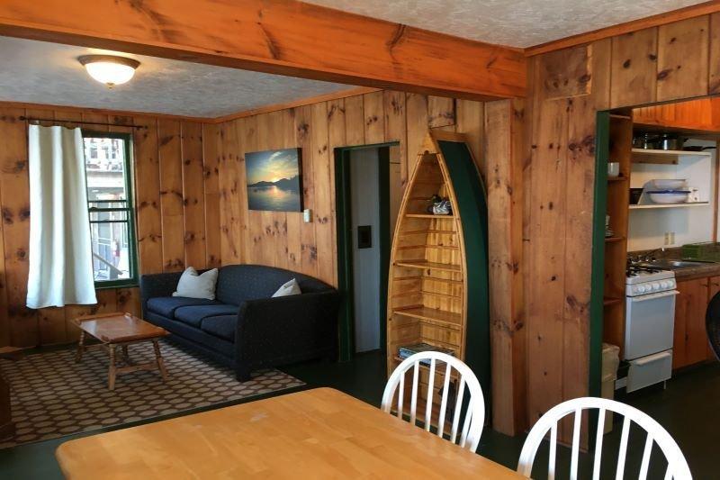 boat shelves in family room