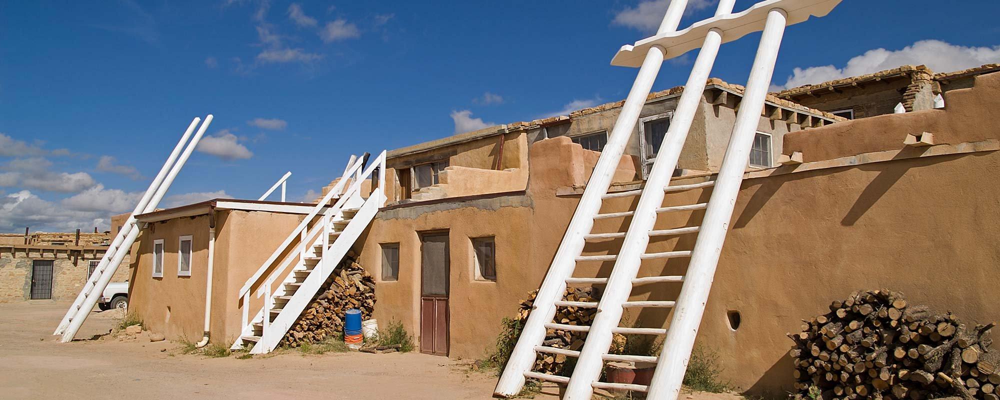 Indian Pueblo in New Mexico
