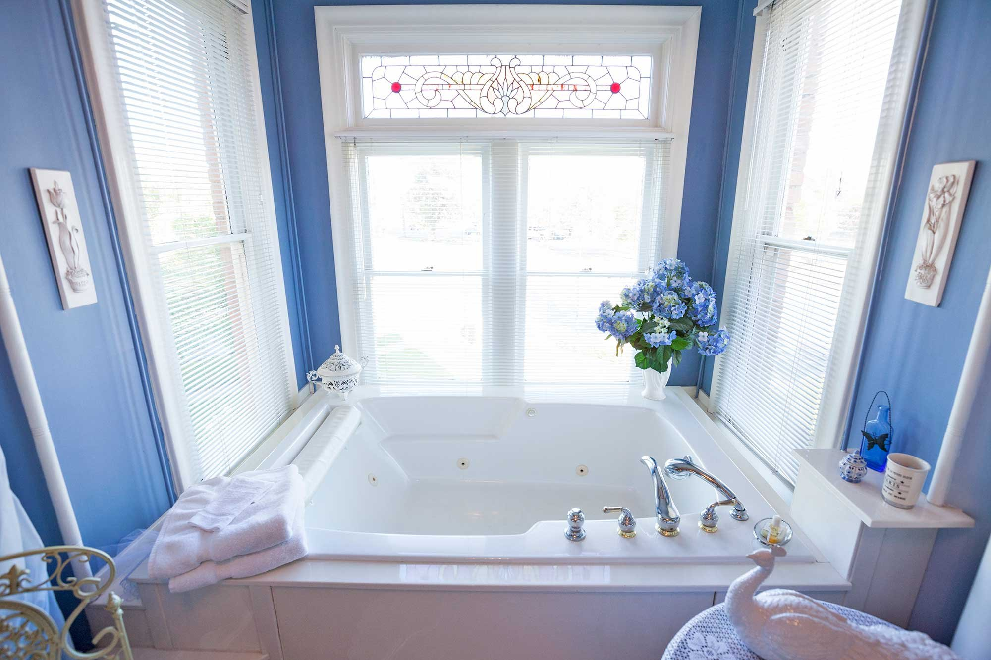 Luxurious Bathtub Near Window