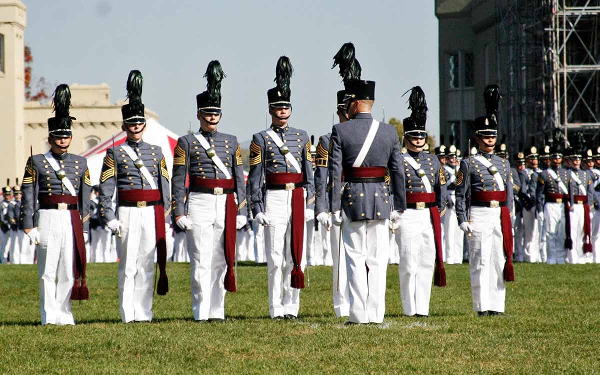 Cadets at Virginia Military Institute