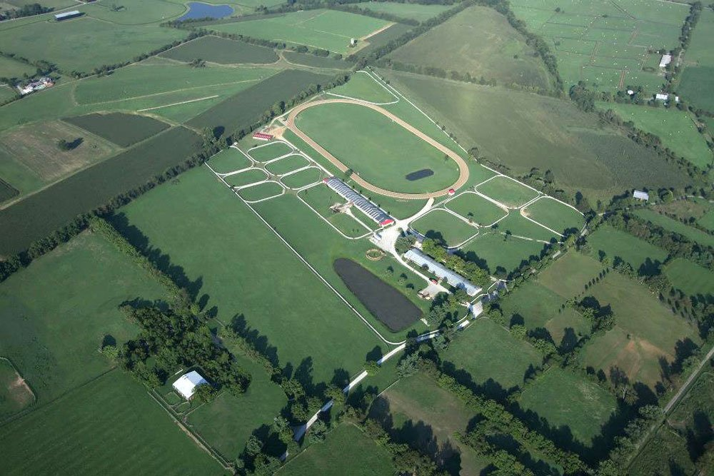 Aerial View of Mercury Equine Center