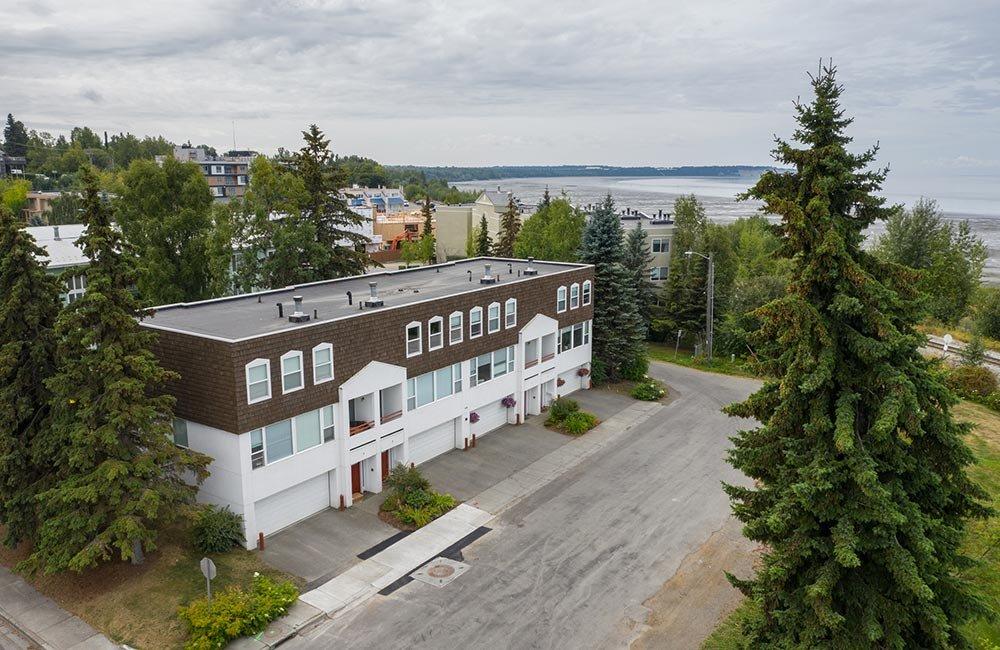Park Vista building by road
