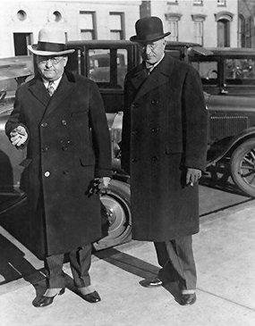 Vintage Photo of Mr. Thomas Mathis Near Car