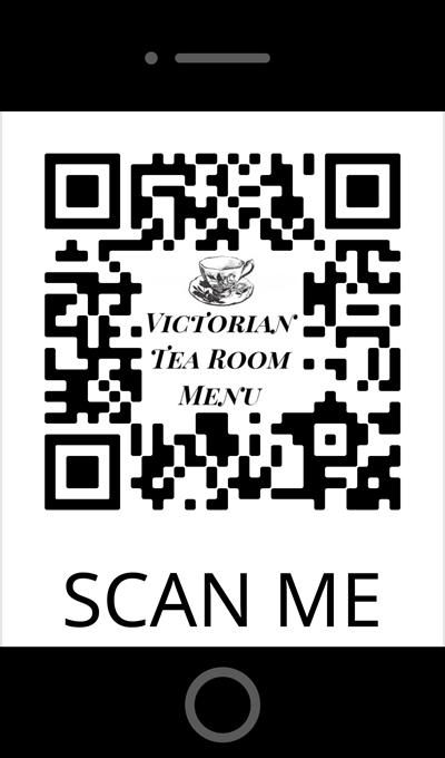 Tea Menu QR Code