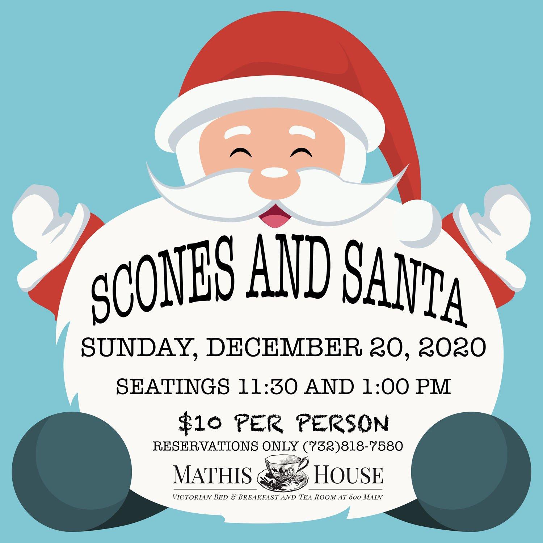 Scones and Santa