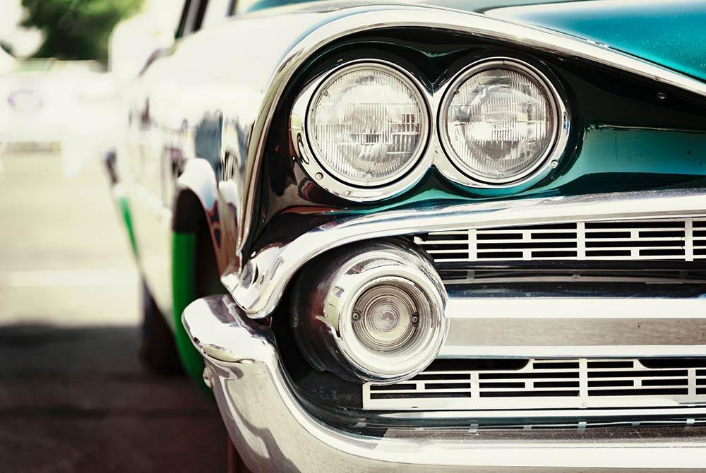 classic vintage american car