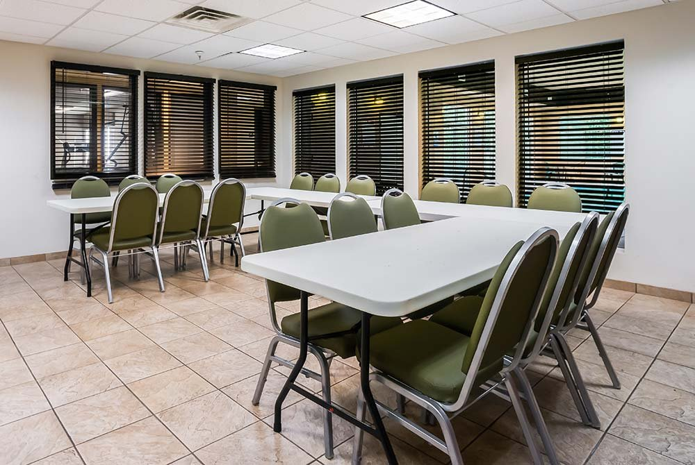 Dining Table in Conference Room