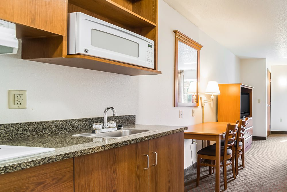Kitchenette Area with Microwave