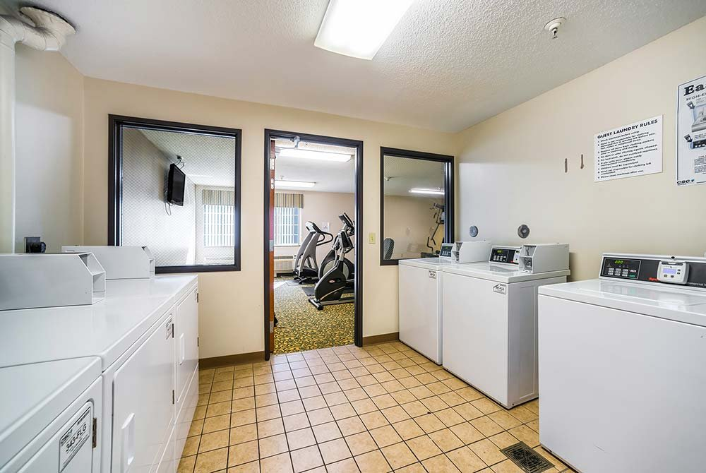 Coin Laundry Room