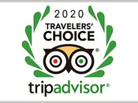TripAdvisor Travelers Choice Award 2020