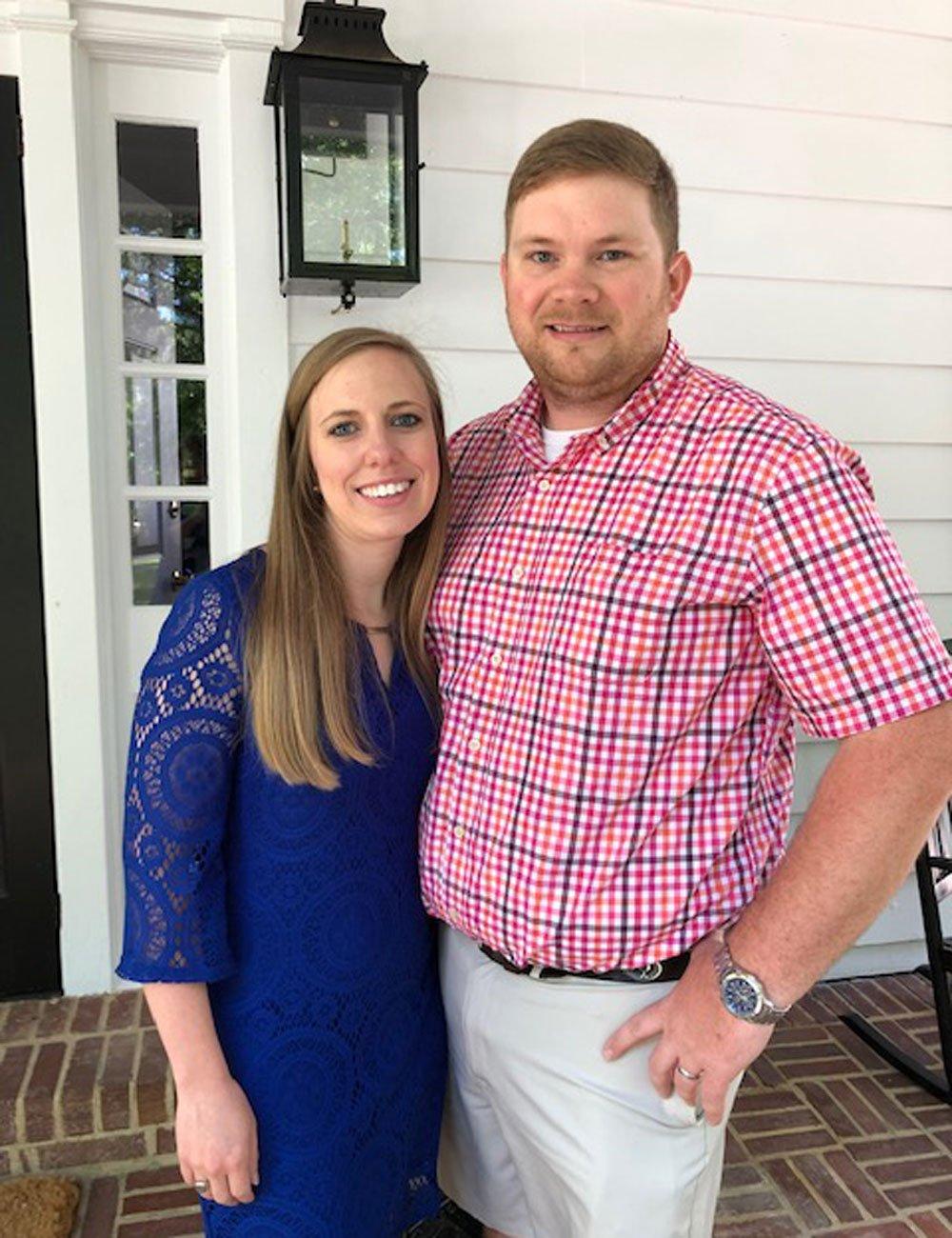 Newlyweds Sarah & Andrew Spivey