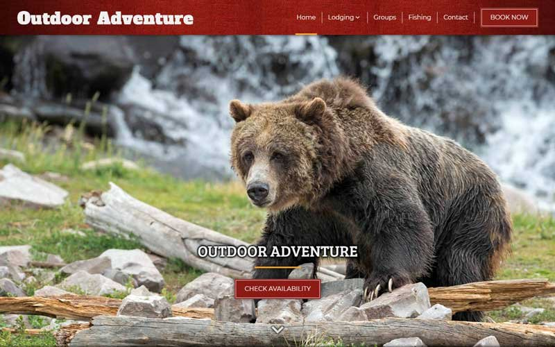 The Outdoor Adventure design
