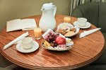 Tea or Coffee Service with fruit basket