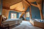 Upstairs bedroom main lodge