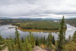 Teslin River view from driveway