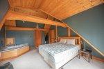 Downstairs bedroom main lodge