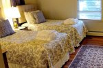 Haven By The Sea room 1 two twin beds