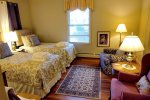 Haven By The Sea room 1 two twin beds full room